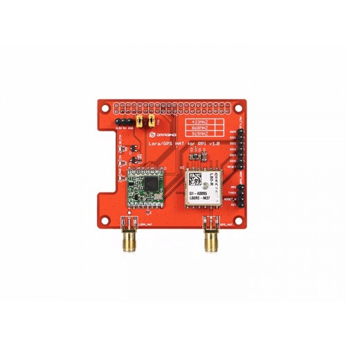 Raspberry Pi LoRa/GPS HAT - support 868M frequency at MG Super Labs