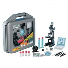 Discovery Planet Microscope Set With Light & Projector in Carrying Case by Edu-Science
