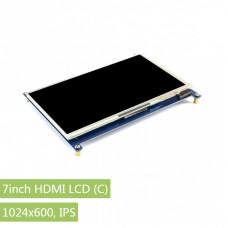 7inch HDMI LCD (C), 1024×600, IPS