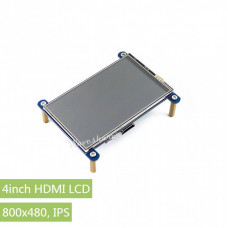 4inch HDMI LCD, 800×480, IPS