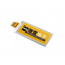 296x128, 2.9inch E-Ink raw display panel, yellow/black/white three-color