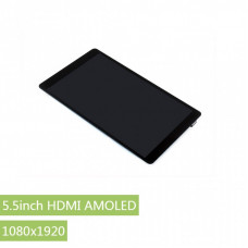 5.5inch HDMI AMOLED, 1080x1920, supports various systems, capacitive touch